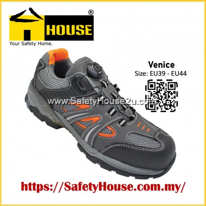 HOUSE VENICE SAFETY SHOES C/W COMPOSITE TOE CAP & ARAMID MID SOLE